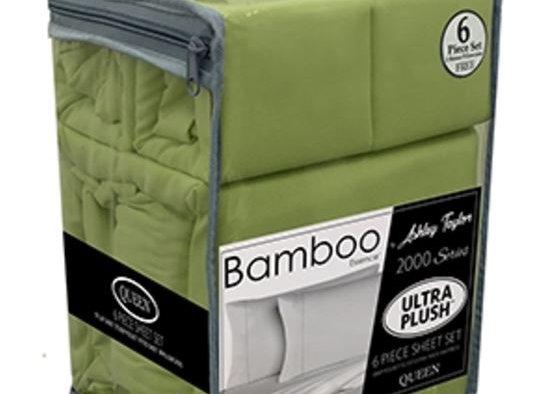 Bamboo King Size - 6 Piece Set