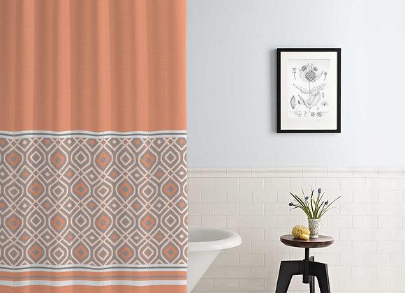 Oxford Stripe Shower Curtain
