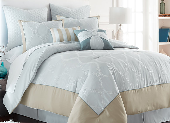 8 Piece Duvet Set-ST. Tropez