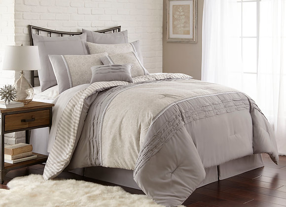 NEW 8 Piece Comforter / Duvet Set