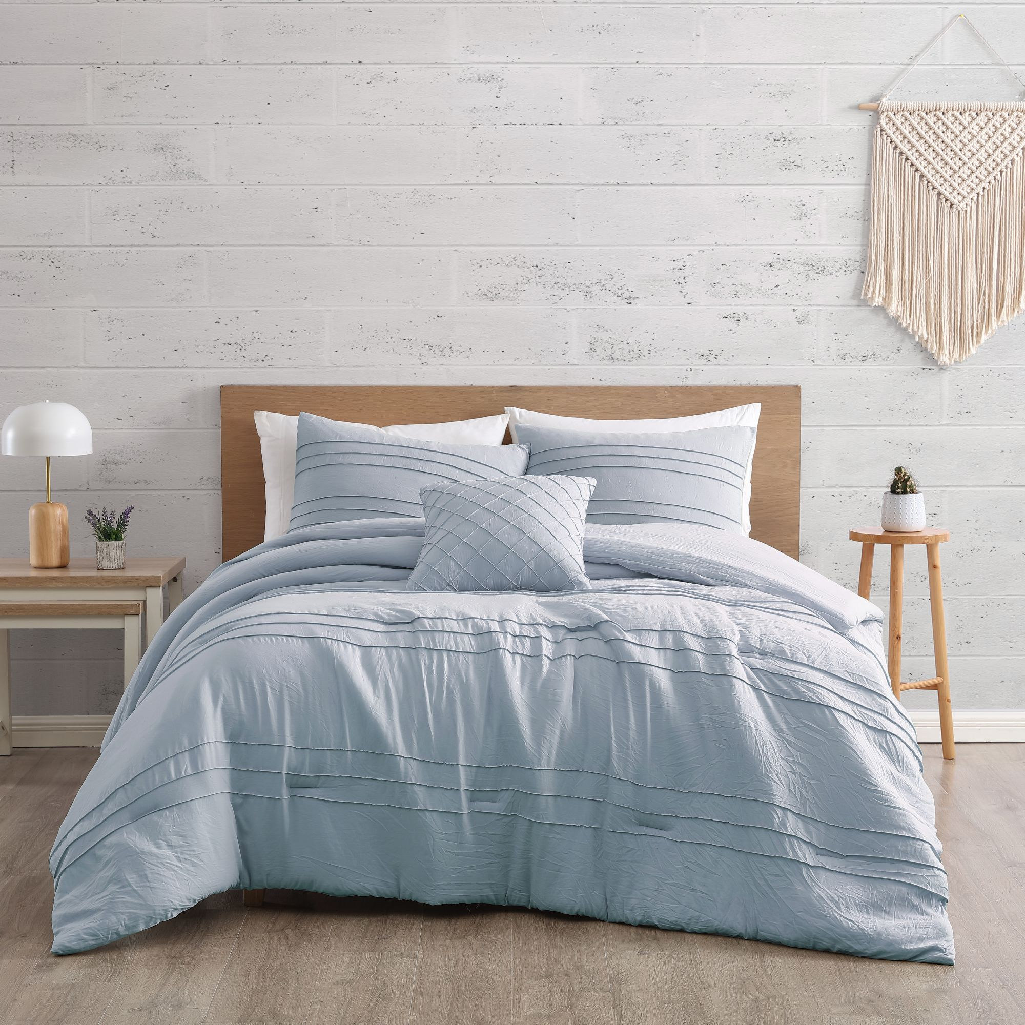 Taylor Blue - 4 Pieces Comforter Set $85.00