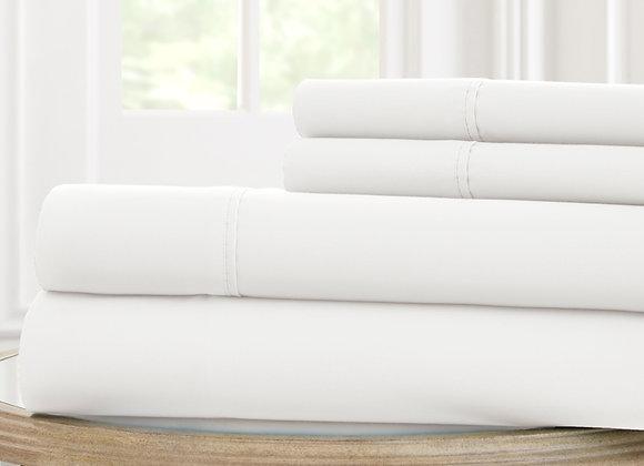 600 Thread count 4 Piece 100% Cotton Sets