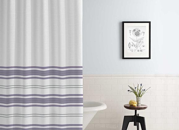 Racer Stripe Shower Curtain