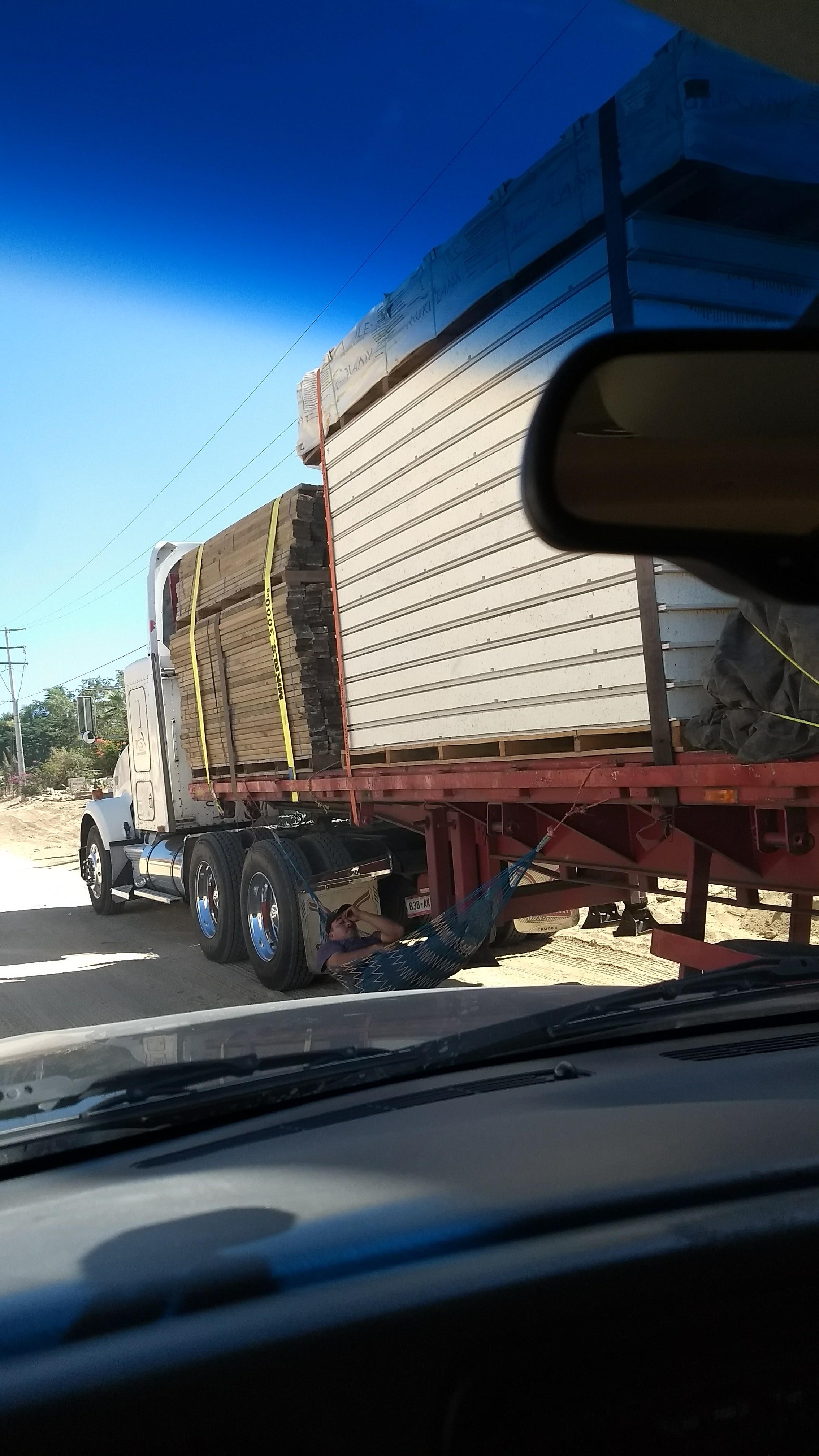 50% less Trucking