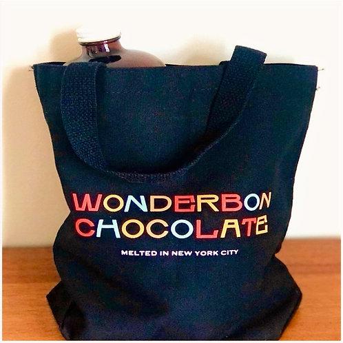 Mini Black Wonderbon Shoulder Bag