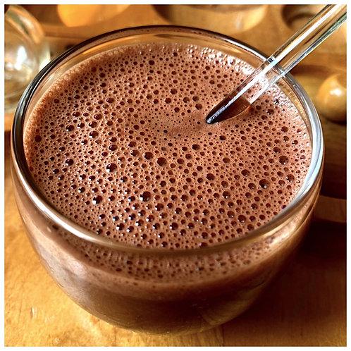 Plant-Based Milk Chocolate Malt Hot Chocolate Growler