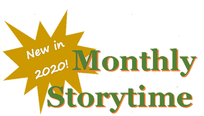 Children's Garden 2020 storytime brochur