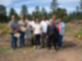 Mohave County Master Gardeners at Payson Community Garden