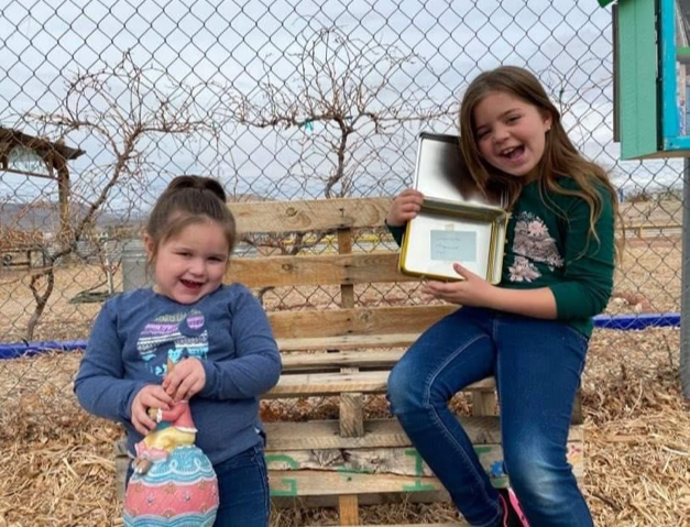 Congratulations to Addisyn and Emily for winning first and second prize in the January Dig It Children's Coloring Contest.  Good job girls!