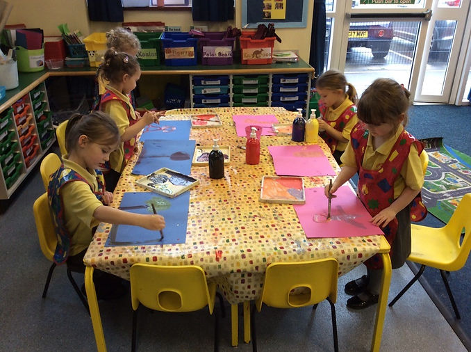 Mixing Colours - Around the World Topic.