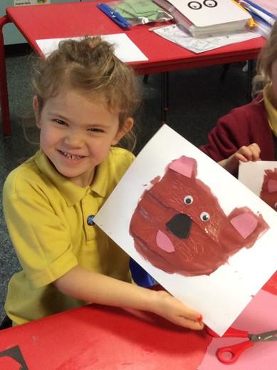 Bear Painting - Spring 2 - Imagine Topic