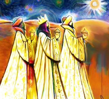 Kolmekuningapäev, Vega ja Päikesevarjutus. Kolm kingitust, mille meist igaüks on saanud, ootavad kas