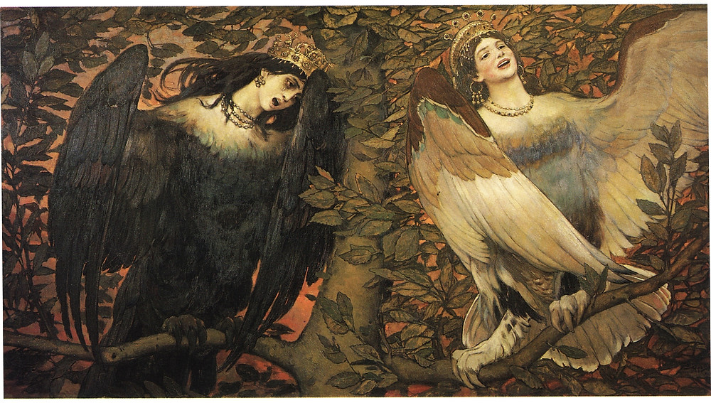 https://www.wikiart.org/en/viktor-vasnetsov/sirin-and-alkonost-the-birds-of-joy-and-sorrow-1896
