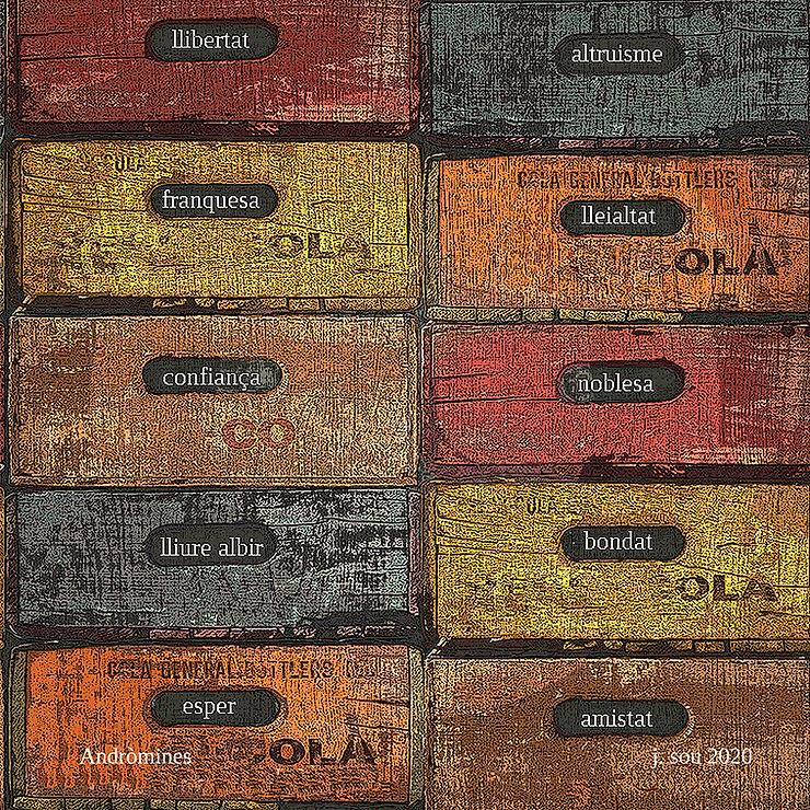 josep sou, boek visual, visual poetry, poesia visual,