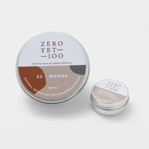 Zero Yet 100 - Z2 Woods Deodorant Aluminium Pot / Z2 森林型罐裝除臭劑 - 60g