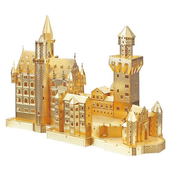 piececool -  Neuschwanstein Castle (Gold / Silver) / 天鵝堡 (金色/銀色)