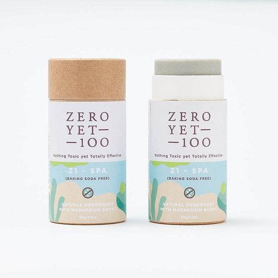 Zero Yet 100 - Z1 Spa Deodorant Push up Stick (Baking Soda Free) - 50gm