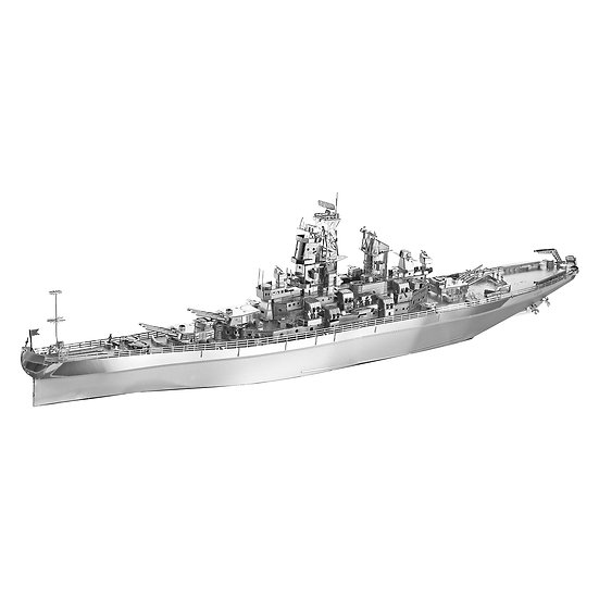 piececool -  USS Missouri / 密蘇里號戰列艦