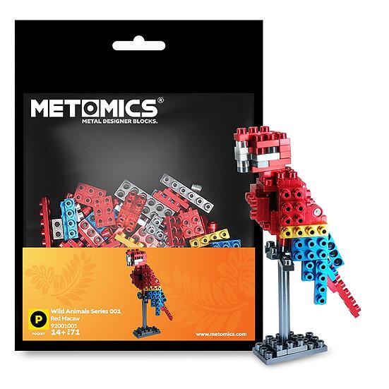 METOMICS - Red Macaw / 紅色金剛鸚鵡