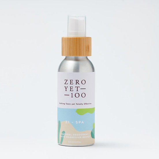 Zero Yet 100 - Z1 Spa Deodorant Spray / Z1溫泉味止汗噴霧 - 100ml