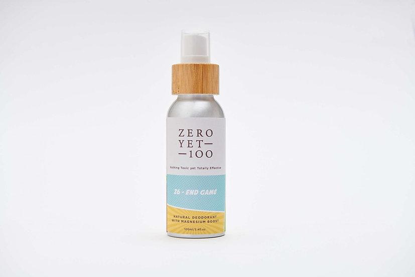 Zero Yet 100 - Z6 End Game Deodorant Spray / 止汗噴霧 - 100ml