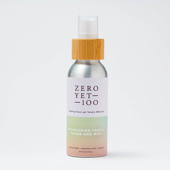 Zero Yet 100 - Nourishing Facial Toner Mist - 80ml