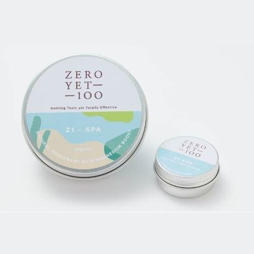 Zero Yet 100 - Z1 Spa Deodorant Aluminium Pot / Z1溫泉型罐裝除臭劑 - 60gm