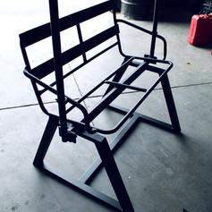 Restored Ski Lift Chair