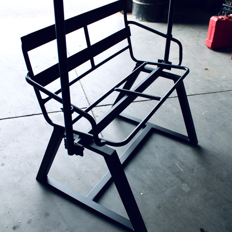 Restored Ski Lift Chair
