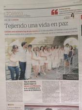 עם יעל דקלבאום ומרים טוקאן במקומון של קורדובה, ספרד. 2017