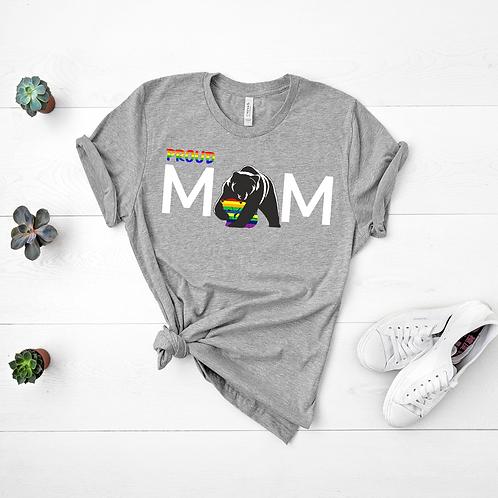 Proud Mom Pride Month T-shirt