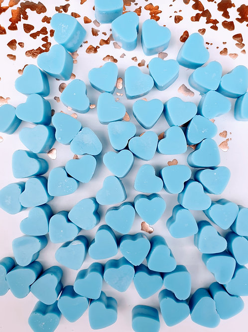 Light Blue - Mini Hearts (35g Bag)