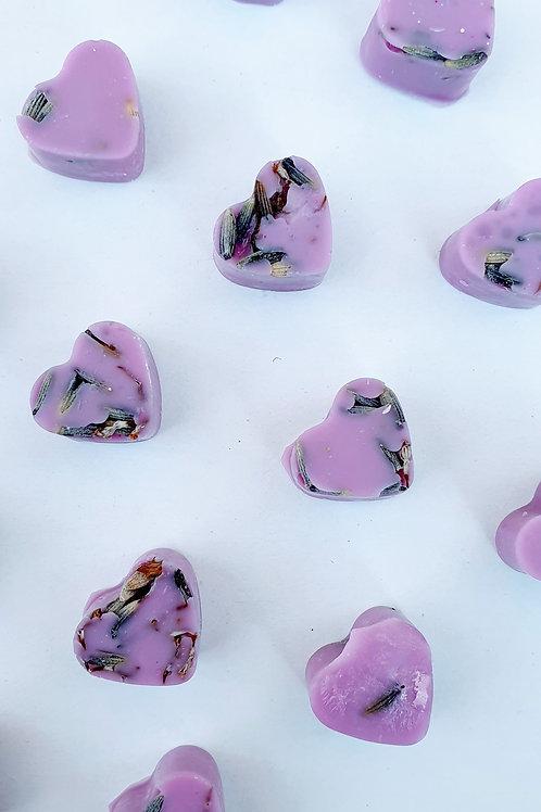 Lavender - Mini Hearts (35g Bag)
