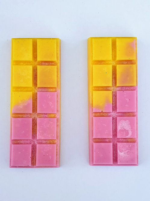 Rhubarb & Custard Snap Bars