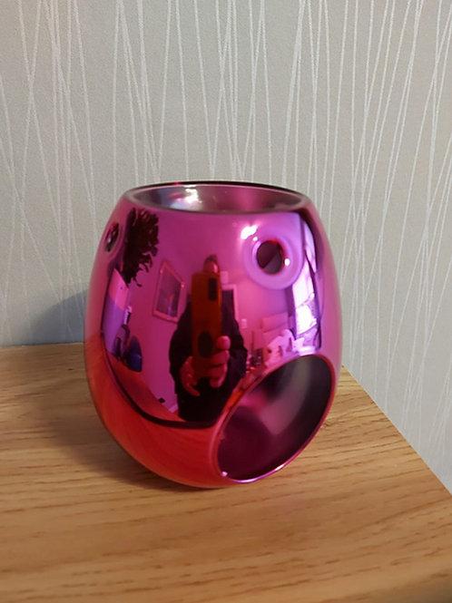 Pink Electroplated Burner