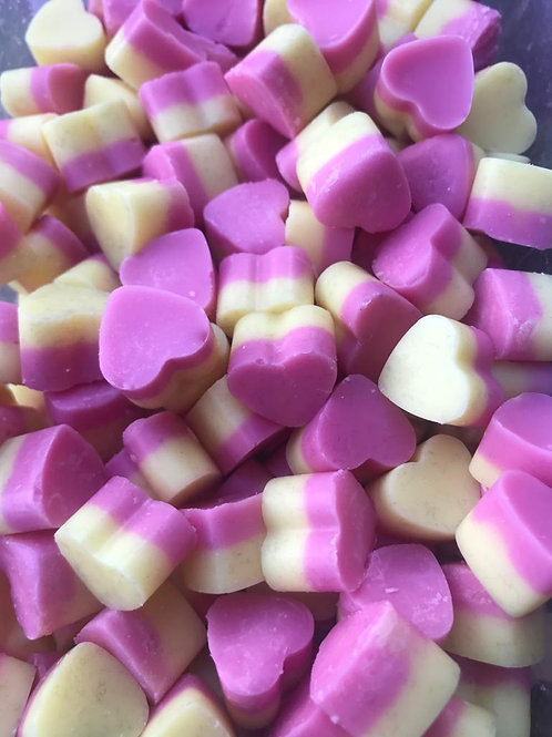 Rhubarb & Custard - Mini Hearts (35g bag)