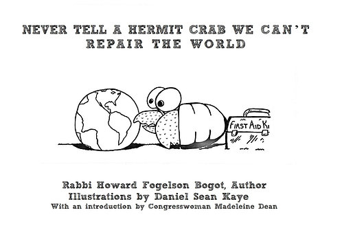 (PRE-ORDER) Never Tell A Hermit Crab We Can't Repair The World