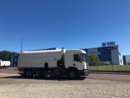 Ny feiebil på vei til Norge og Sopihop AS!