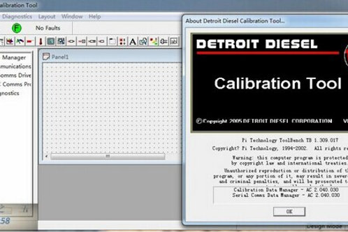 Detroit Diesel Calibration Tool v4.5c1