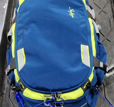 Travel with a backpack