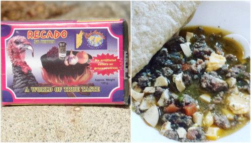 black dinna food belize