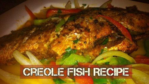 creolefish food belize