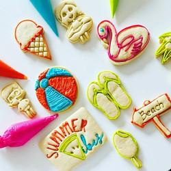 Beach Themed Cookie Kit