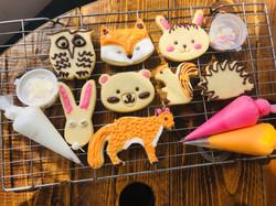 woodland cookie kit