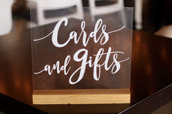 Clear Cards and Gifts