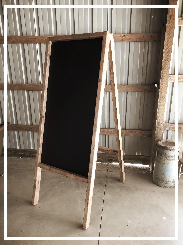 Large Chalkboard
