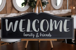 Welcome Family & Friends