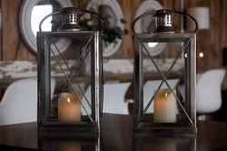 Large Silver Lanterns
