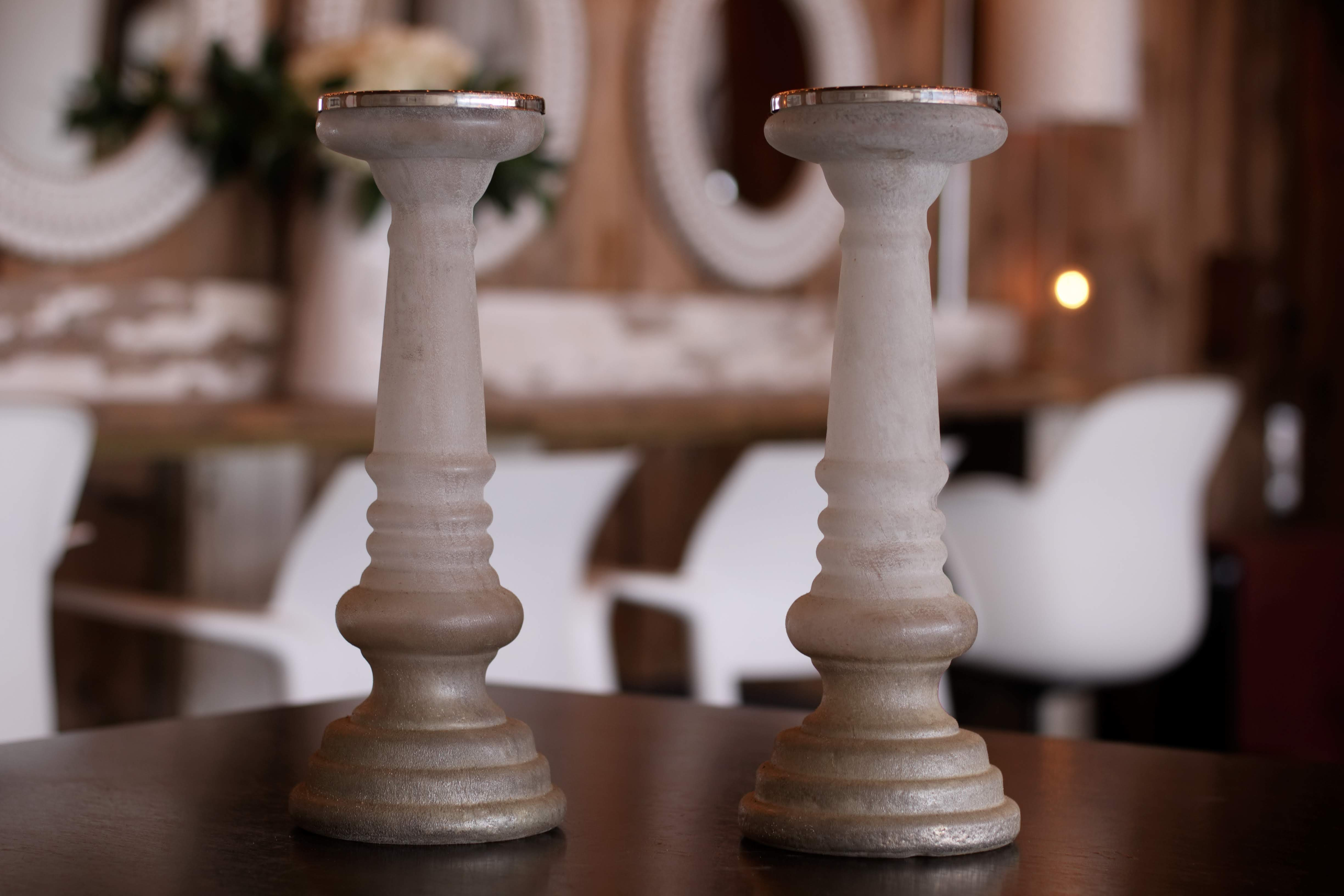 White Candlesticks
