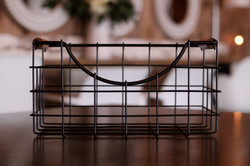 Small Black Wire Basket